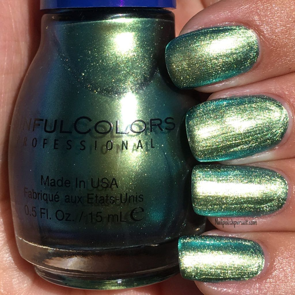 Kameleon from the Denim & Bling Collection by SinfulColors x Kylie Jenner | Nailpolishpursuit.com