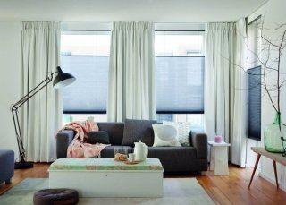 gordijnen voor hoge ramen pliss gordijnen op maat gemaakt