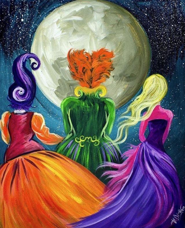 Painting Ideas Halloween Painting Halloween Canvas Halloween Canvas Paintings