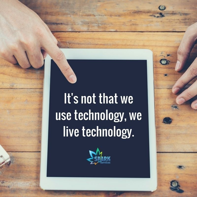 We use technology in our day to day life, technology makes