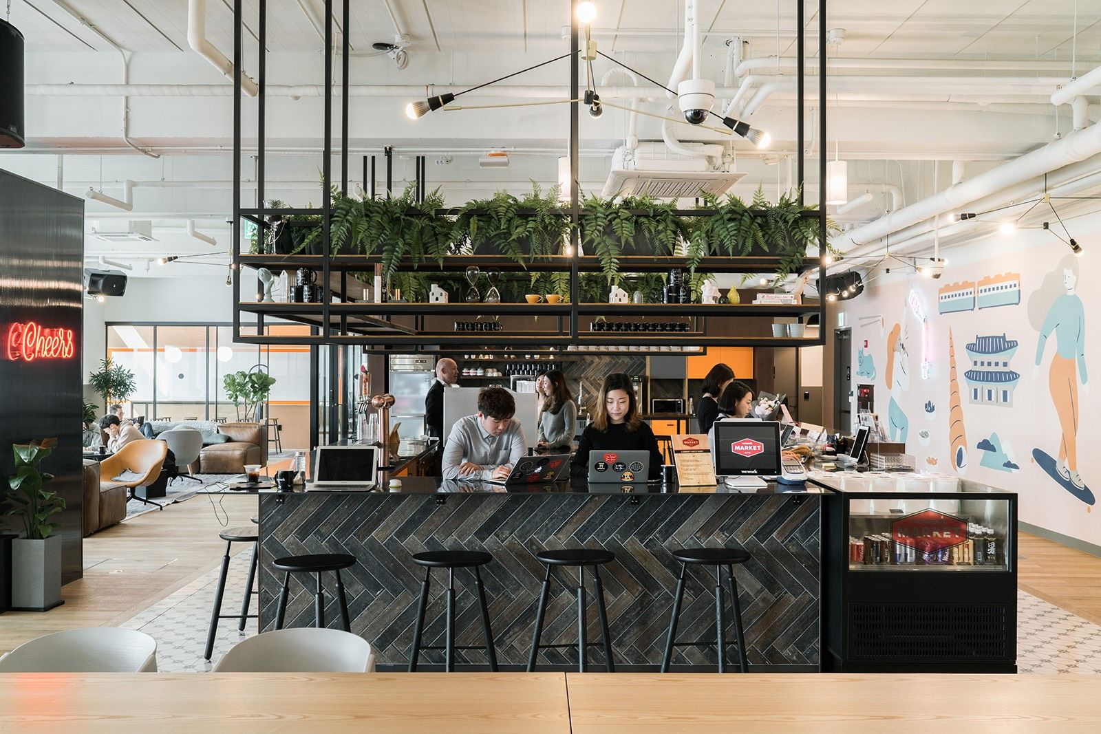A tour of weworks new coworking campus in seoul officelovin