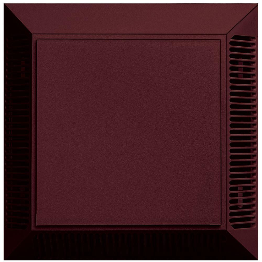 Builders Edge Intake Exhaust Siding Vent 078 Wineberry Red Home Depot Fiberglass Screen Exhausted