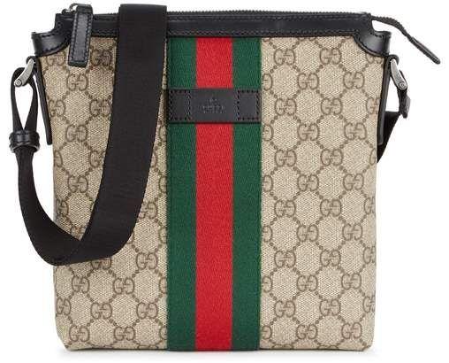 7a0b64e6287 Gucci GG Supreme Canvas Cross-body Bag