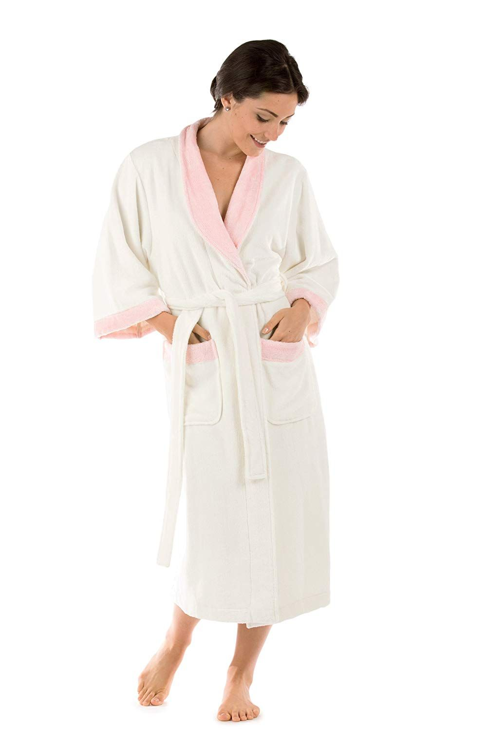 90dc46298b638 Women's Terry Cloth Bath Robe - Luxury Comfy Robes by Texere (Sitkimono,  Acai, 2X/3X) Luxury Soft Robes for Mom Sister Wife Daughter Hanukkah Gifts  ...