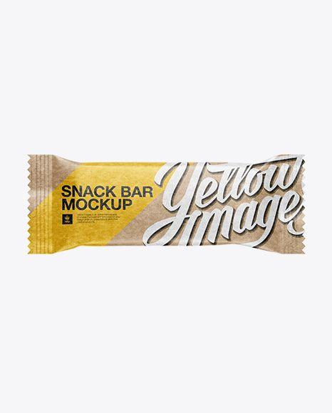 Download Kraft Snack Bar Mockup In Flow Pack Mockups On Yellow Images Object Mockups Mockup Free Psd Mockup Mockup Free Download