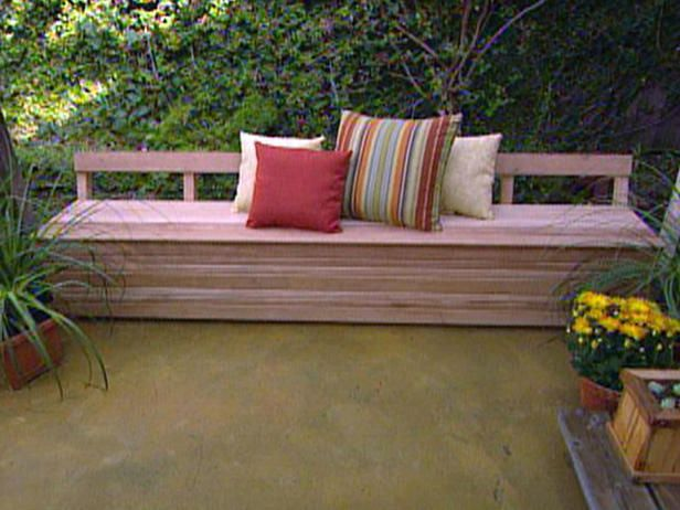 How To Build A Mahogany Patio Bench : Archive : Home U0026 Garden Television