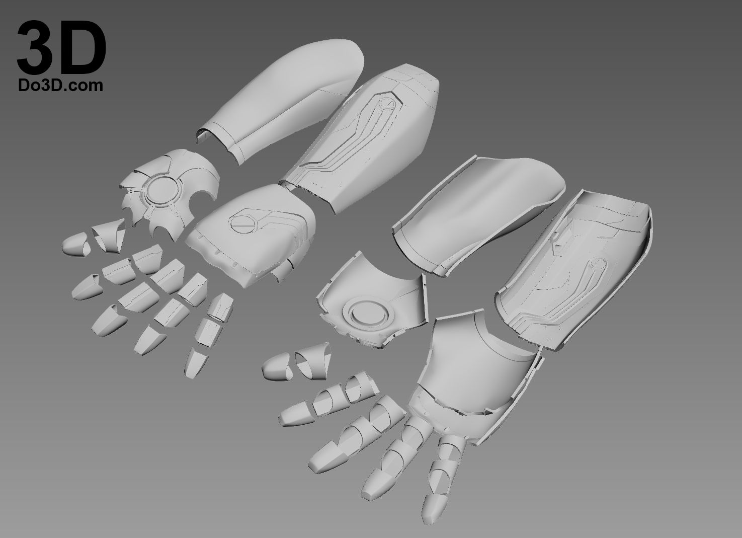 3d Printable Iron Man Mark Xlvi Model Mk 46 From Captain America Civil War Gauntlet Hand Glove Forear Iron Man Hand Iron Man Captain America Civil War