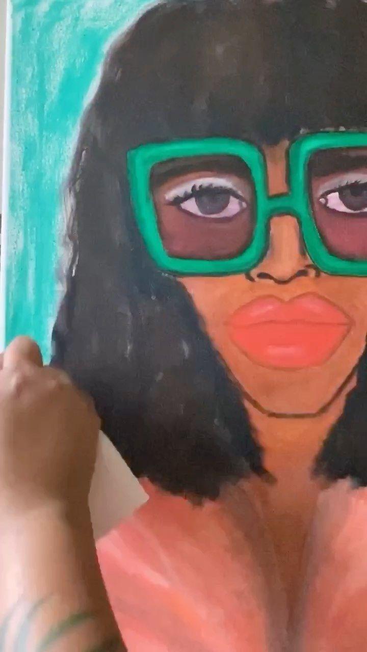 theebouffants on Instagram: It's a great day for a new painting! #artinprogress #creativeprocess #processvideo #artistatwork #mycreativebiz #creativeentrepreneurs…