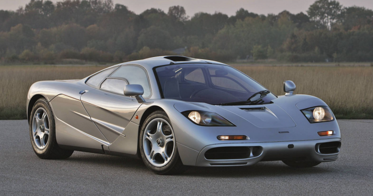 The History And Evolution Of The McLaren F Mclaren F Mclaren - Sports cars mclaren