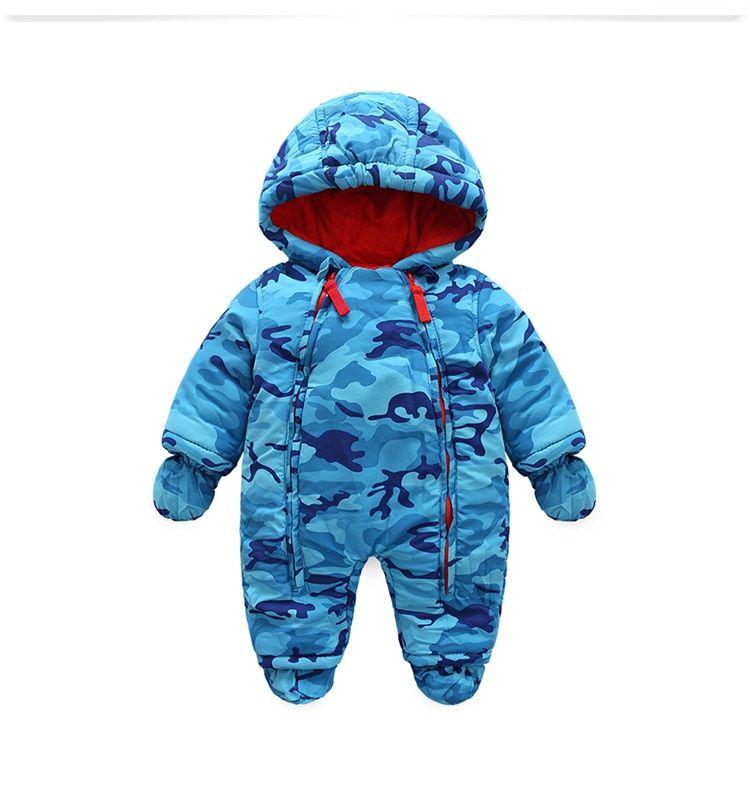 2ecc124c5225 2018 new fashion Camo clothing for kids snow wear