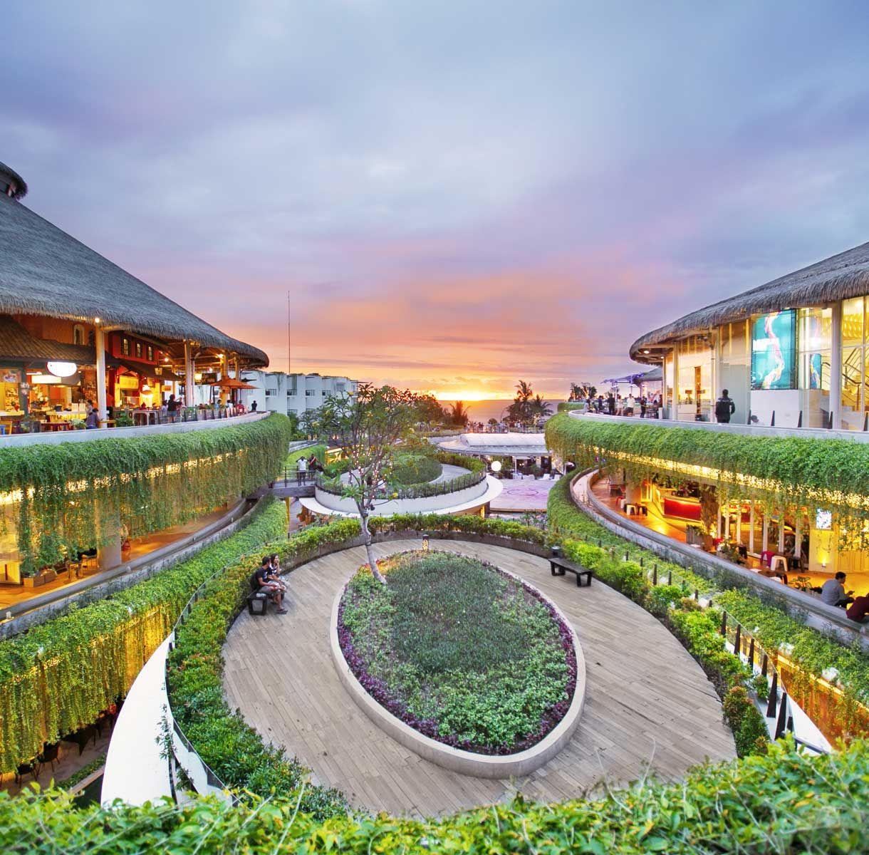 Bali Beachwalk Shopping Center In Kuta