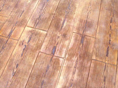 Ankare zaline corcho con ankare desmo gris y textura madera pavimentos de hormig n estampados - Pavimento de corcho ...