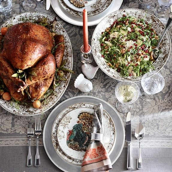 Plymouth Turkey Dinner Plate Each & Plymouth Turkey Dinner Plate Each | Dinner plate sets Thanksgiving ...