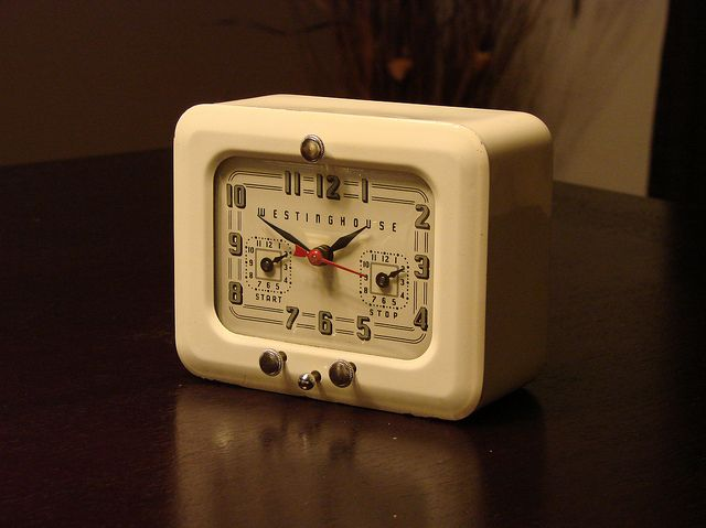 Westinghouse Kitchen Clock Vintage Clock Timer Clock Old Clocks
