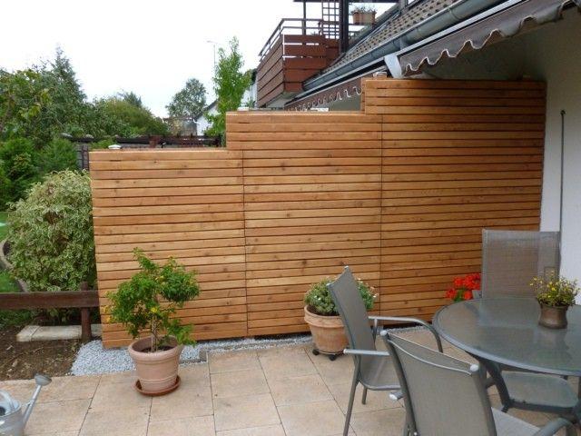 Sichtschutz Reihenhaus Fresh Sichtschutz Terrasse