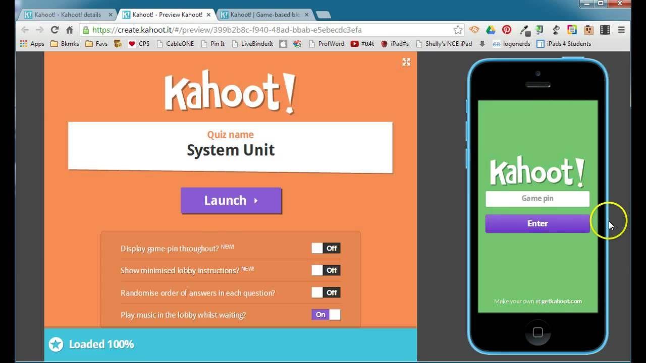 Kahoot Overview Interactive websites, Kahoot, Classroom tech