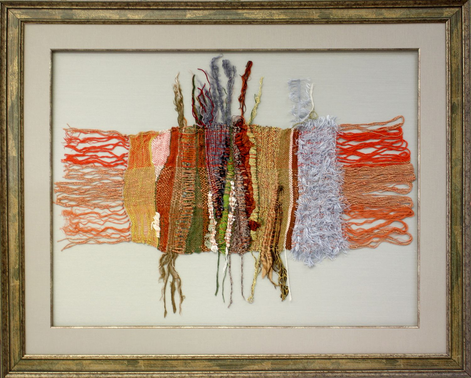 Preserve delicate fabrics while displaying them in your home with custom framing!  Framed by Art & Frame Express in Edison, NJ