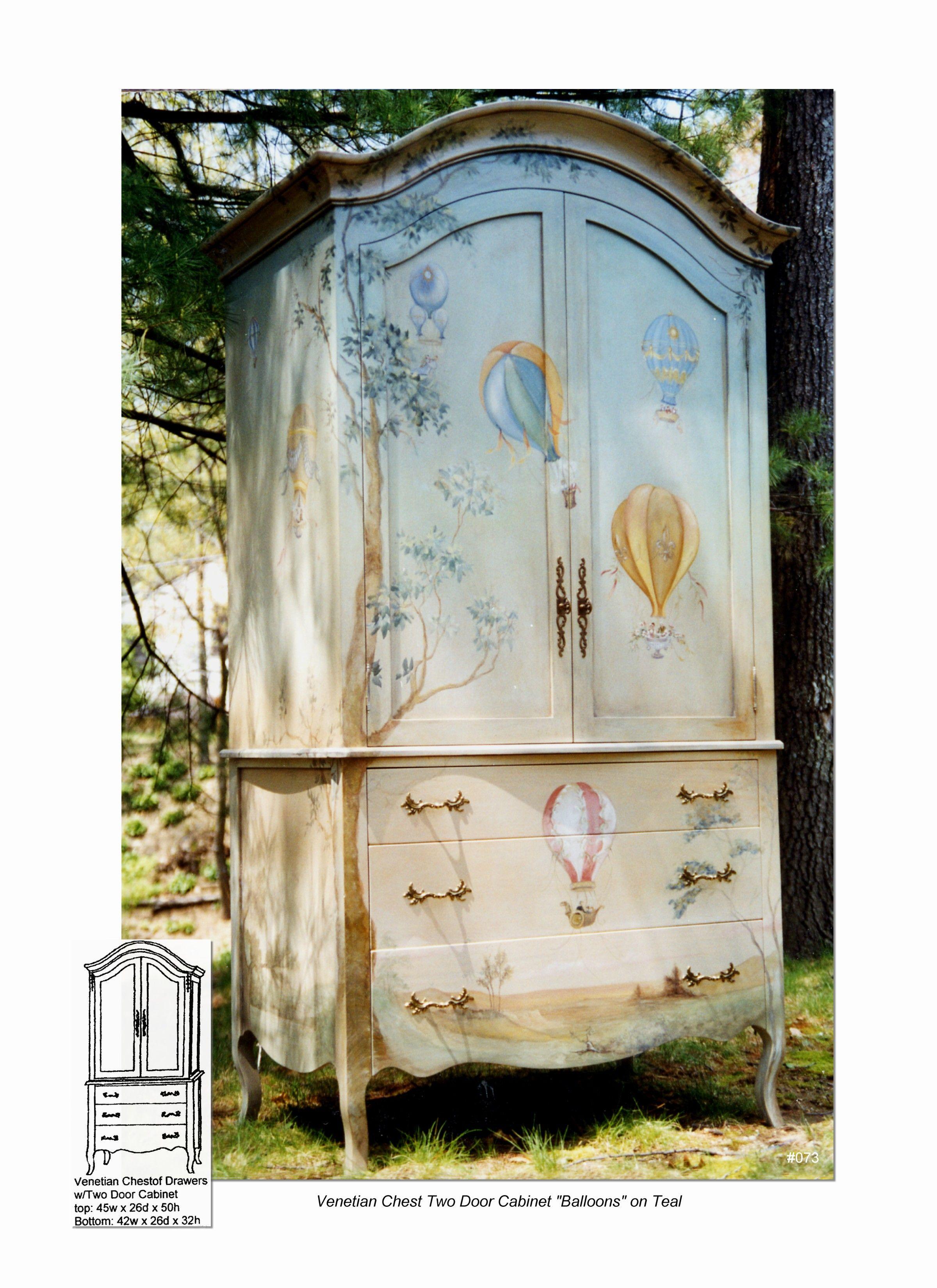 Venetian Armoire Chest   Pintar, Armario y Muebles reciclados