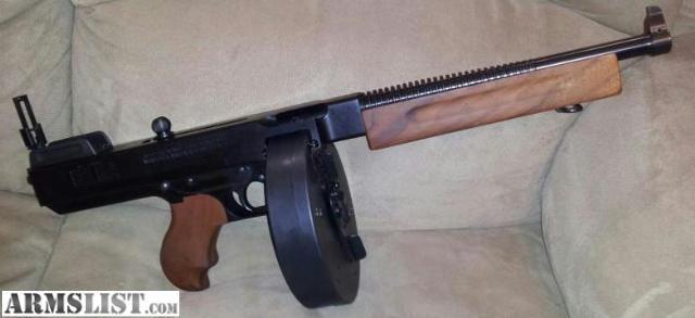 Badass Guns Armslist For Saletrade Badass Tommy Gun Pistol