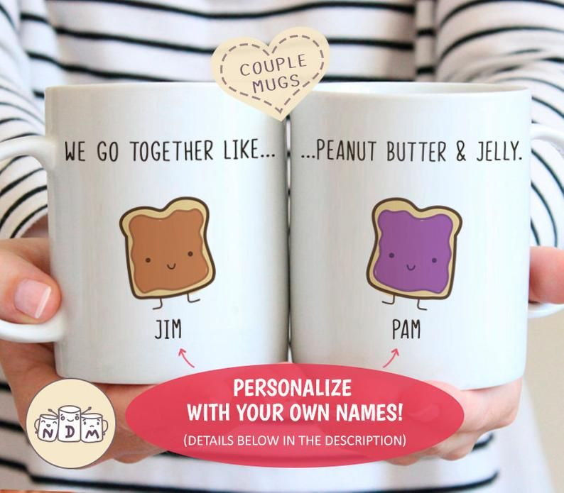 The Office We Belong Together Like Jim and Pam White Coffee Mug