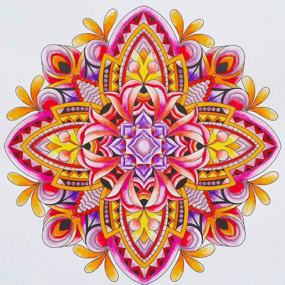 - ColorIt Mandalas To Color Volume 1 Colorist: Marla Theodoro