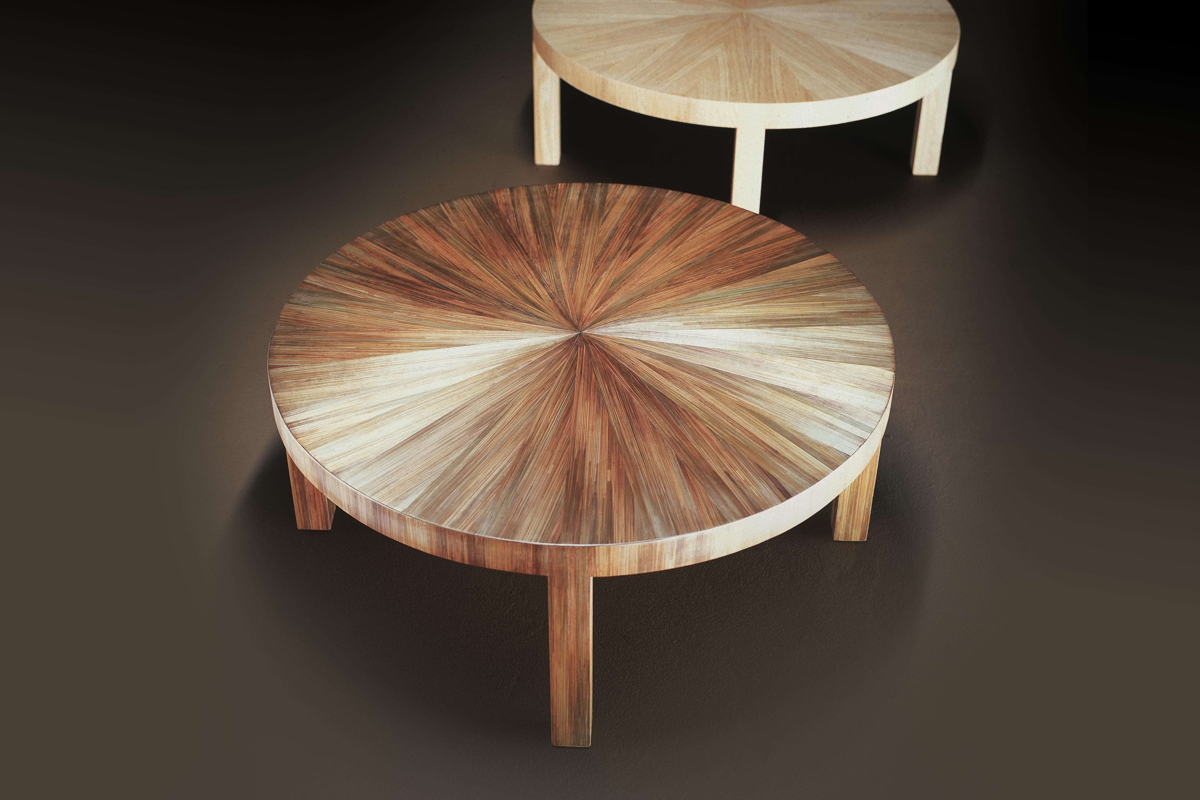 Table Basse Ronde Teck Recycle Marqueterie Lampang Bois Clair Pier Import La Redoute Table Decor Coffee Table
