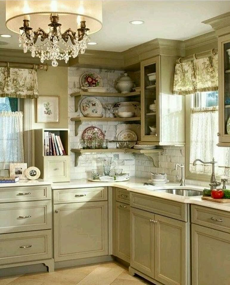 Shabby Chic Kitchen, Shabby Chic, Shabby Chic Kitchen Decor