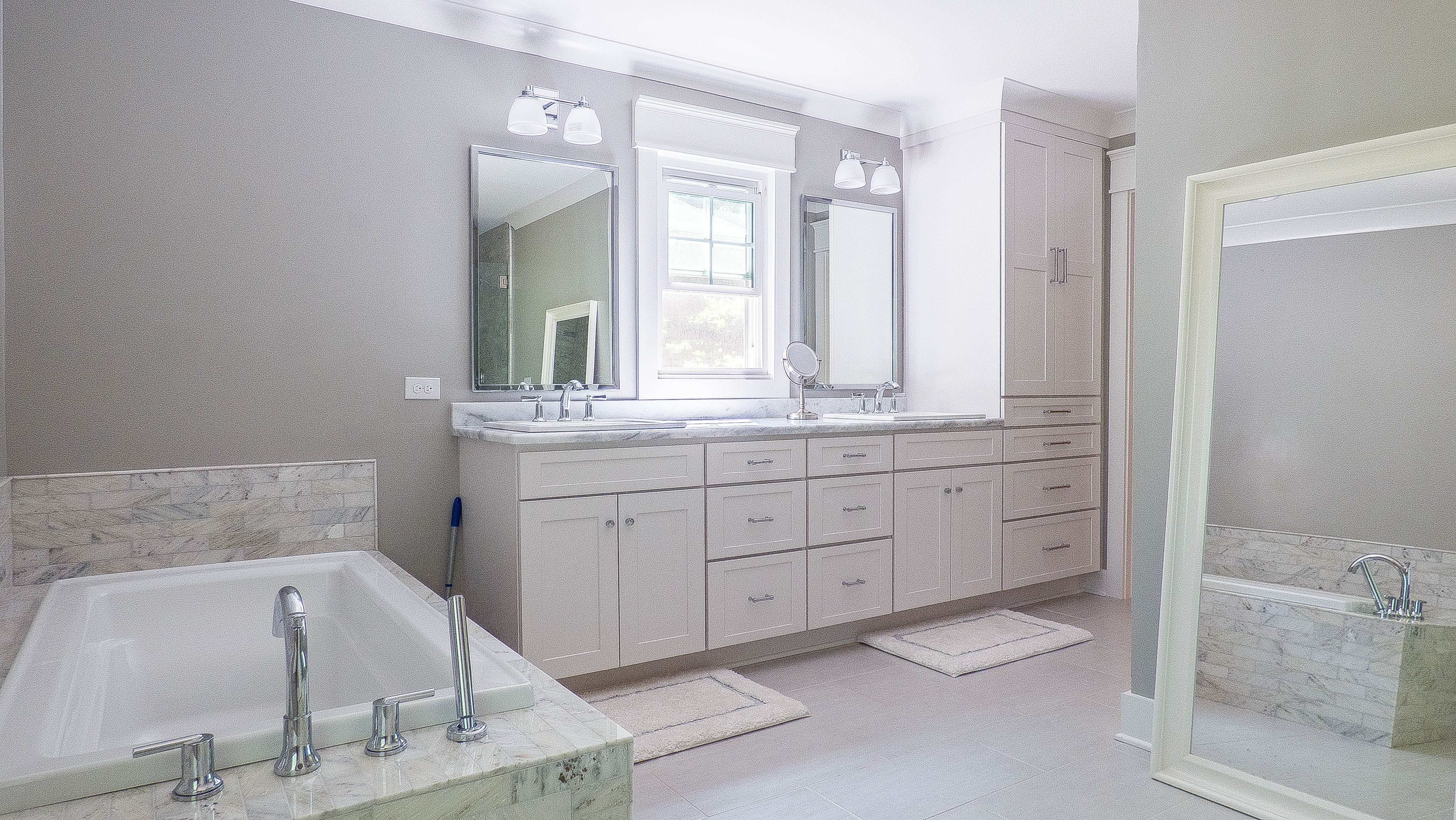 This beautiful bathroom is from our listing
