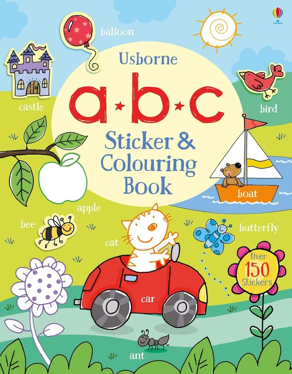 Find Out More About Abc Sticker And Colouring Book Write A Review Or Buy Online Coloring Books Childrens Books Book Boat