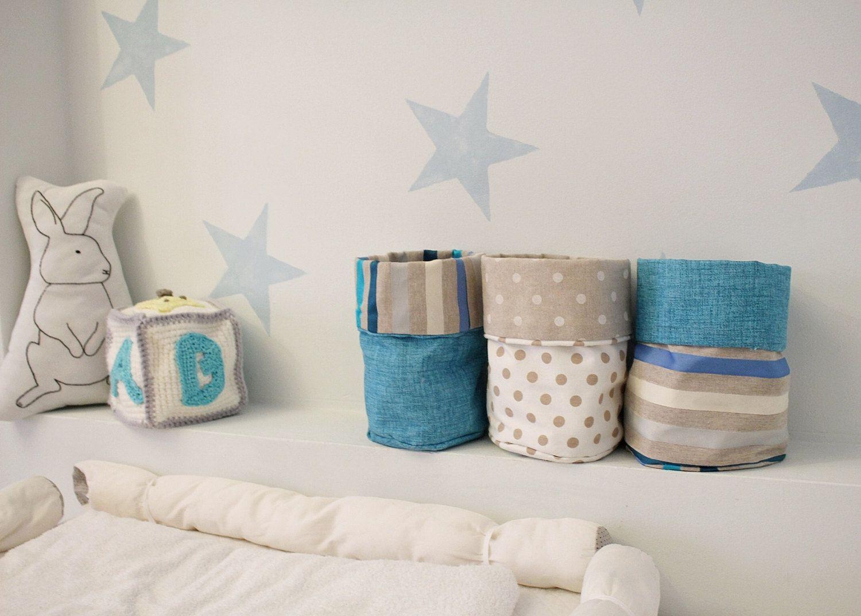 Neutral nursery decor for a boy or