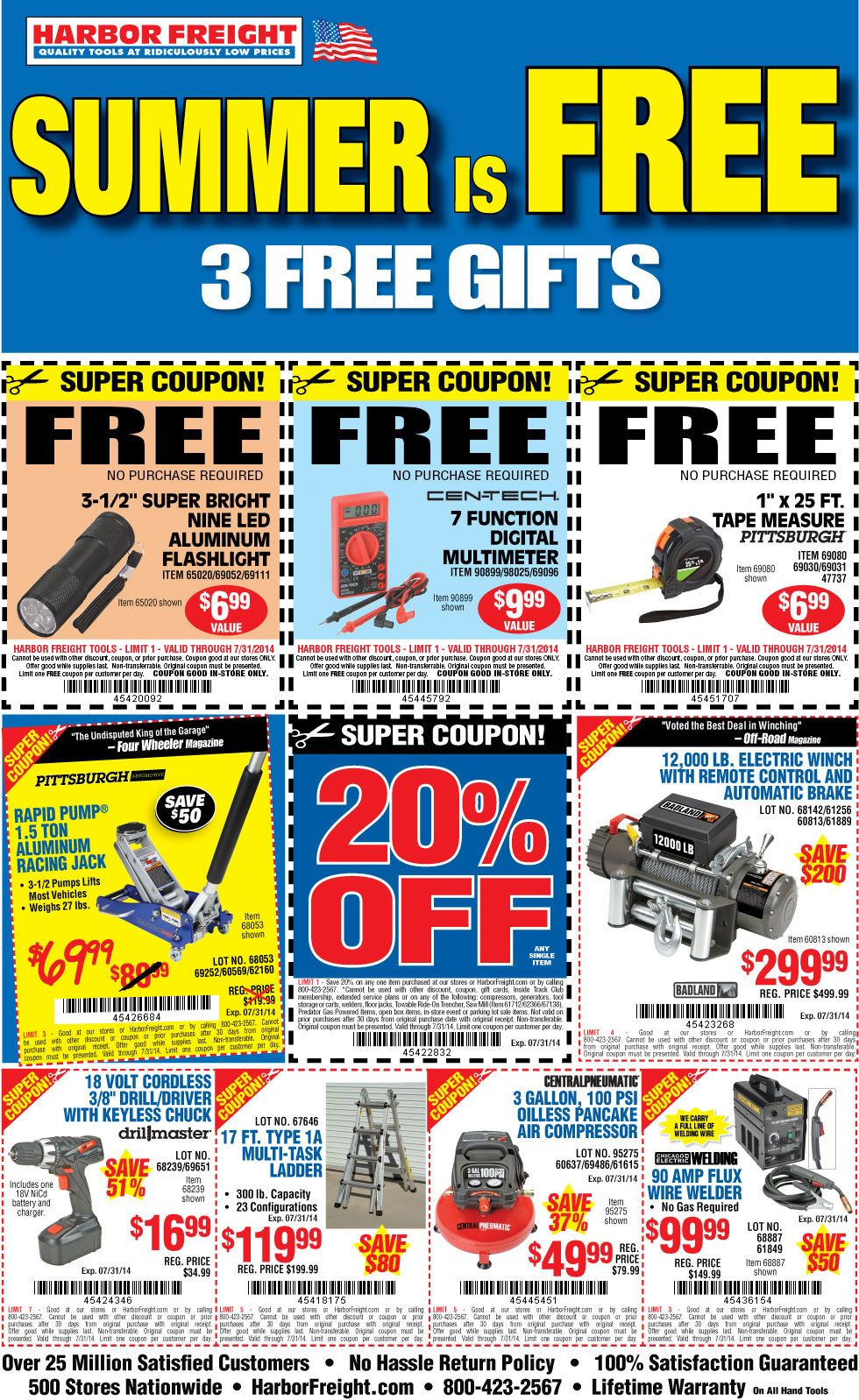 Free flashlight multimeter and tape measure at harbor freight free flashlight multimeter and tape measure at harbor freight closet of free samples get free samples by mail free stuff closetsamp fandeluxe Choice Image
