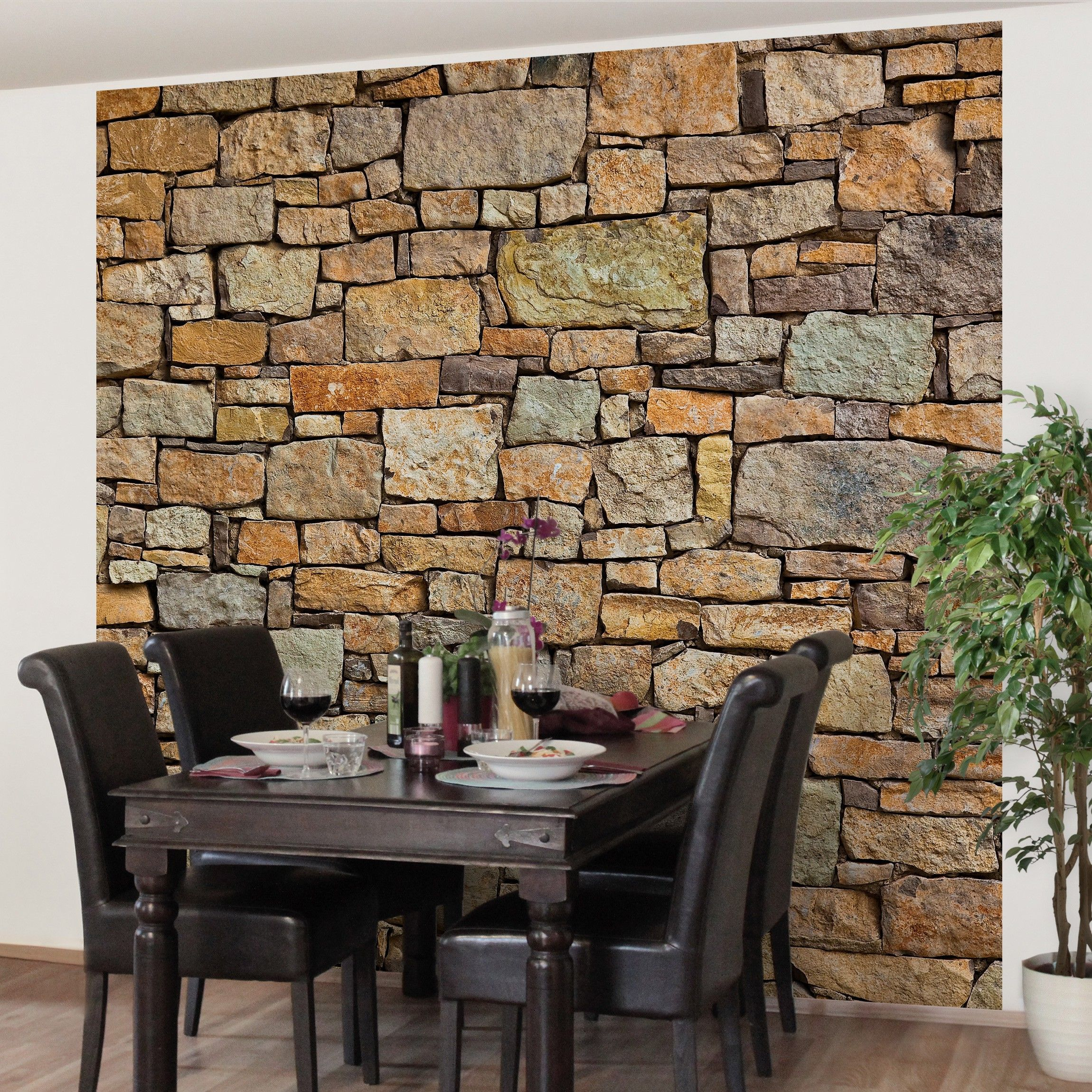 landhaus tapete - vliestapete premium croatia stonewall