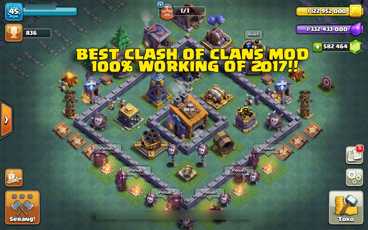 Clash Of Clans Hack Online Clash Of Clans Unlimited Clash Of Clans