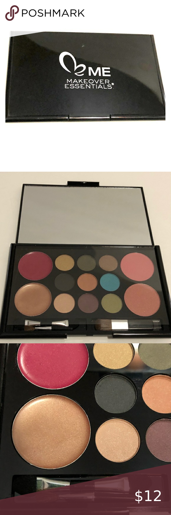 Me Makeover Essentials Face Color Kit Nwot In 2020 Color Kit Makeover Essentials Lip Colors