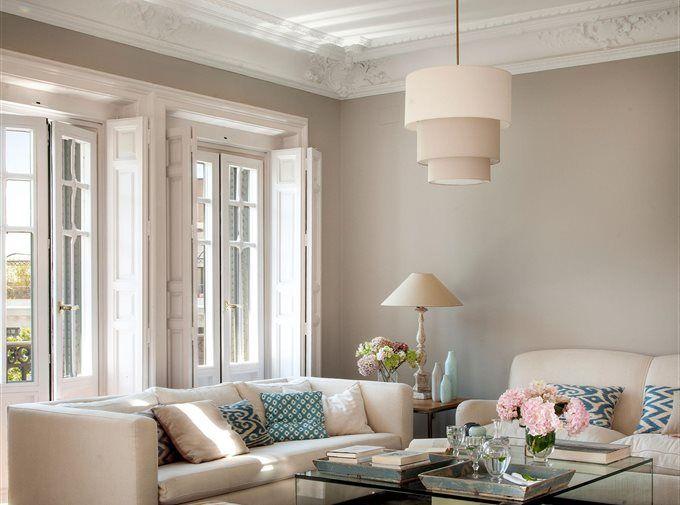 Transforma tu casa solo con pintura salones - Pinturas para salones ...