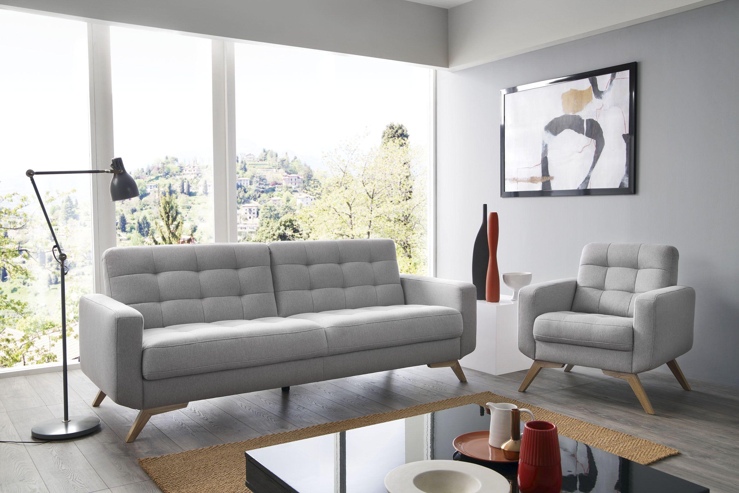 Sofa Kanapa Szara Designerska Fiord Sweet Sit Furniture Home Decor Sofa