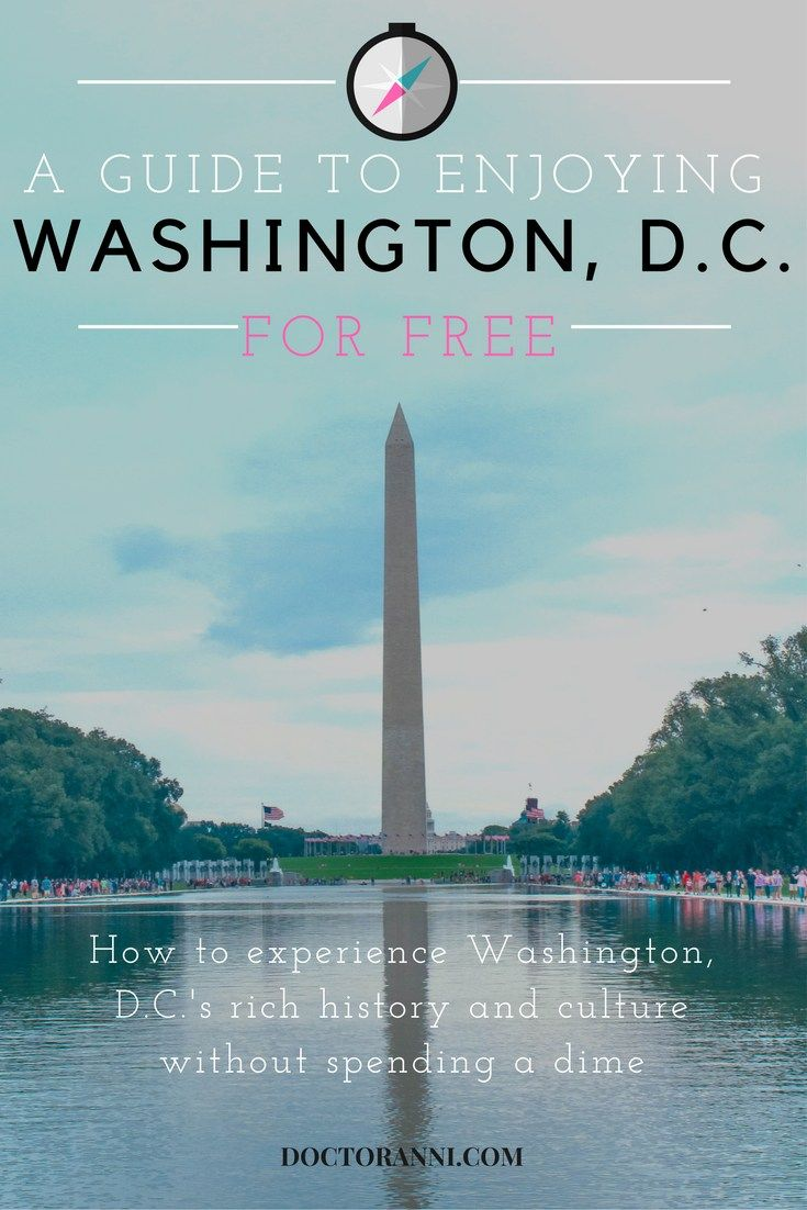 How to Experience Washington, D.C. for Free
