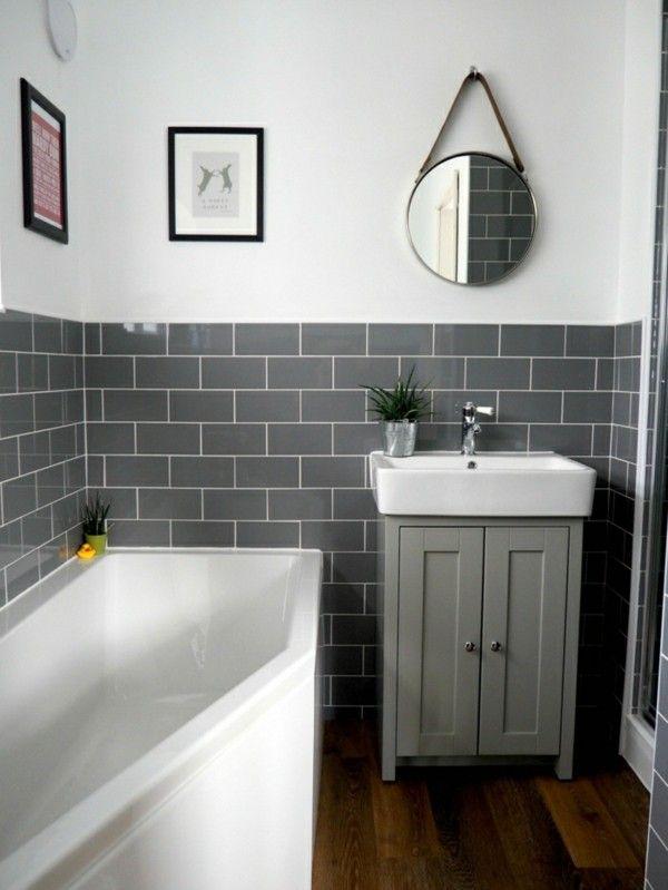 Metro Fliesen Bad - eine trendige und doch zeitlose Entscheidung fürs Badezimmer! #simplebathroomdesigns