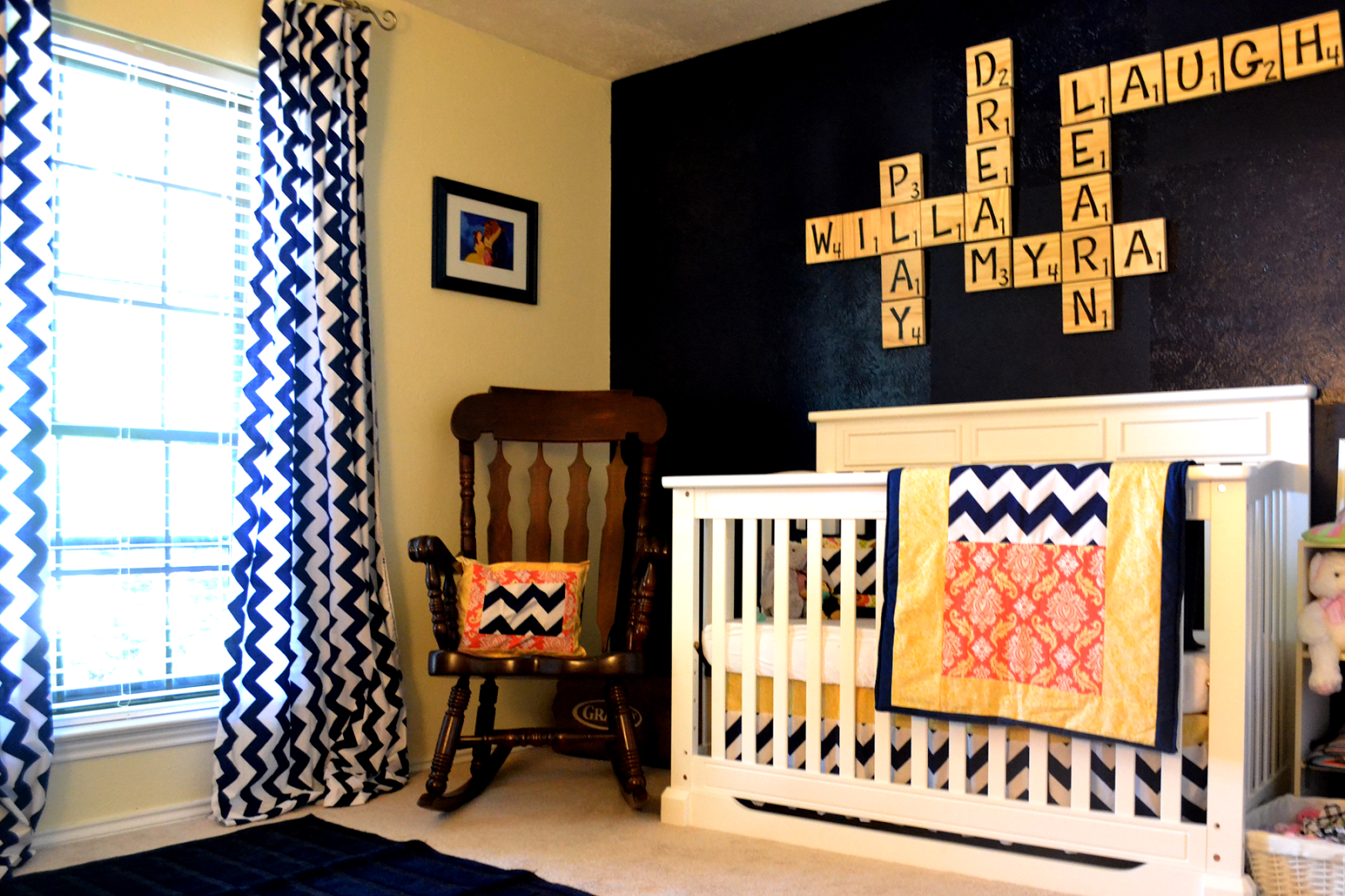 Navy Blue Baby Rooms New House Designs