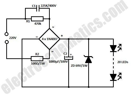 flourescent lamp wiring schematic