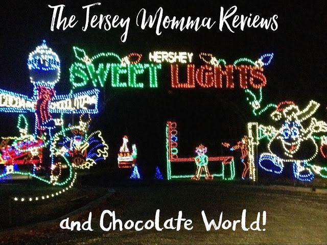 The Jersey Momma: Hershey Sweet Lights, Chocolate World, Hershey's Chocolate World at Christmas