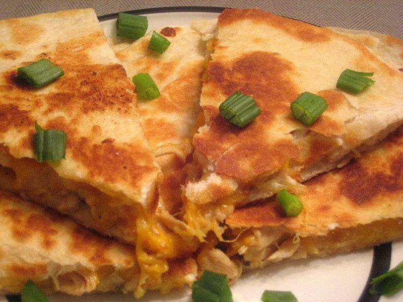 Lime-Marinated-Chicken Quesadillas
