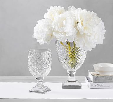 monique lhuillier ava clear cut glass vase my wishlist rh pinterest com