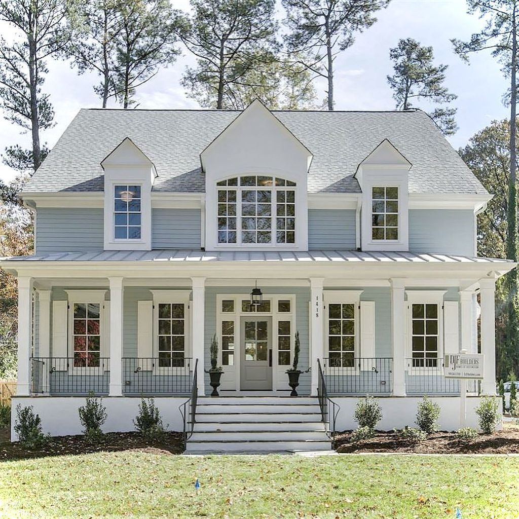 awesome cottage exterior colors schemes ideas060 a bunch of rh pinterest com
