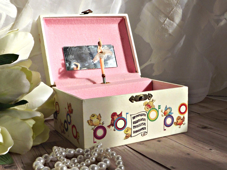 Childs Musical Jewelry Box Ballerina Music Box Childrens Room