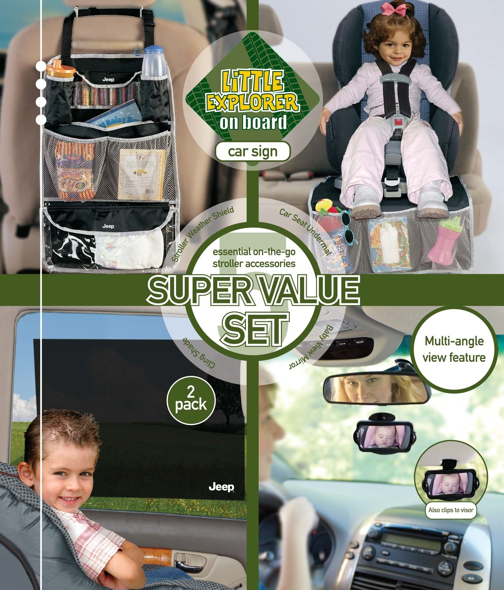 Jeep Car Seat Starter Kit * Continue To The Product At The