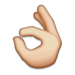 Ok Hand Sign Emoji U 1f44c U E420 Emojis Dibujo Emoji Emoticonos