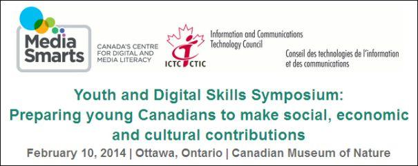 Symposium sur la littératie et les compétences numériques des jeunes Canadiens