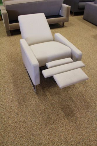 Flight Recliner Lychee Maharam Milestone Theater Chair  Design Within Reach DWR