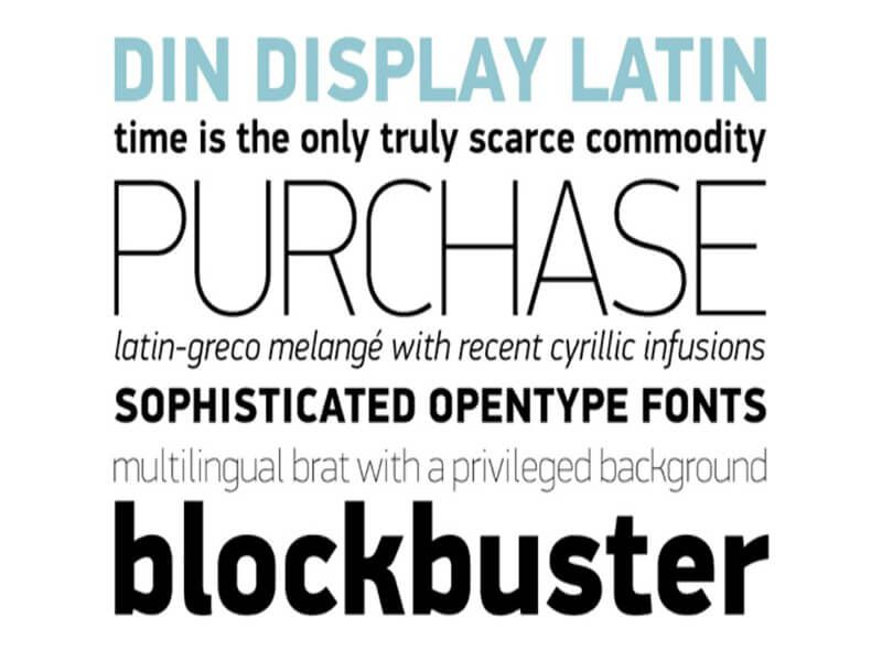 Download Din Pro Font Download | Download fonts, Free fonts ...
